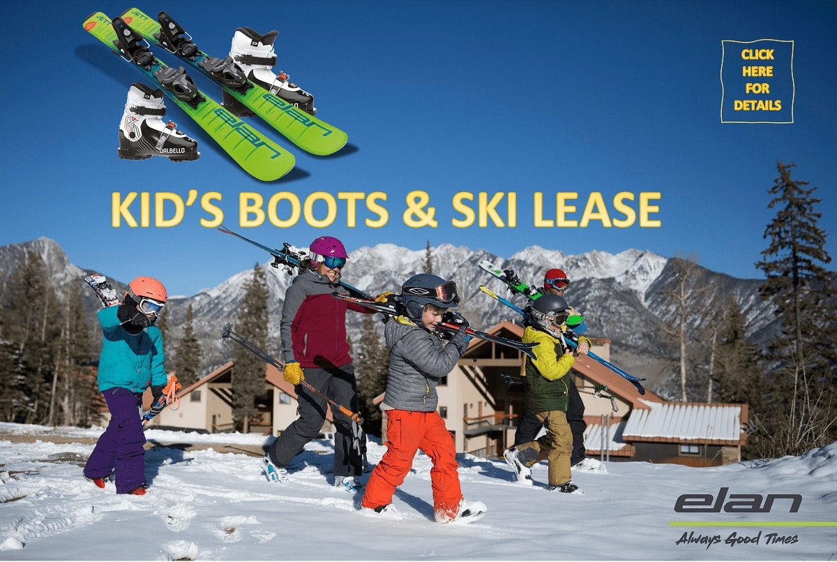 Kids boots and Ski Lease-min